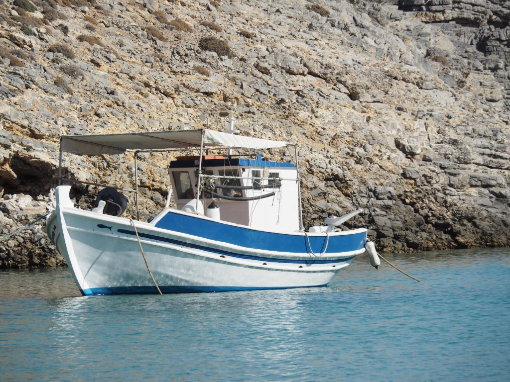 Boats on Kasos