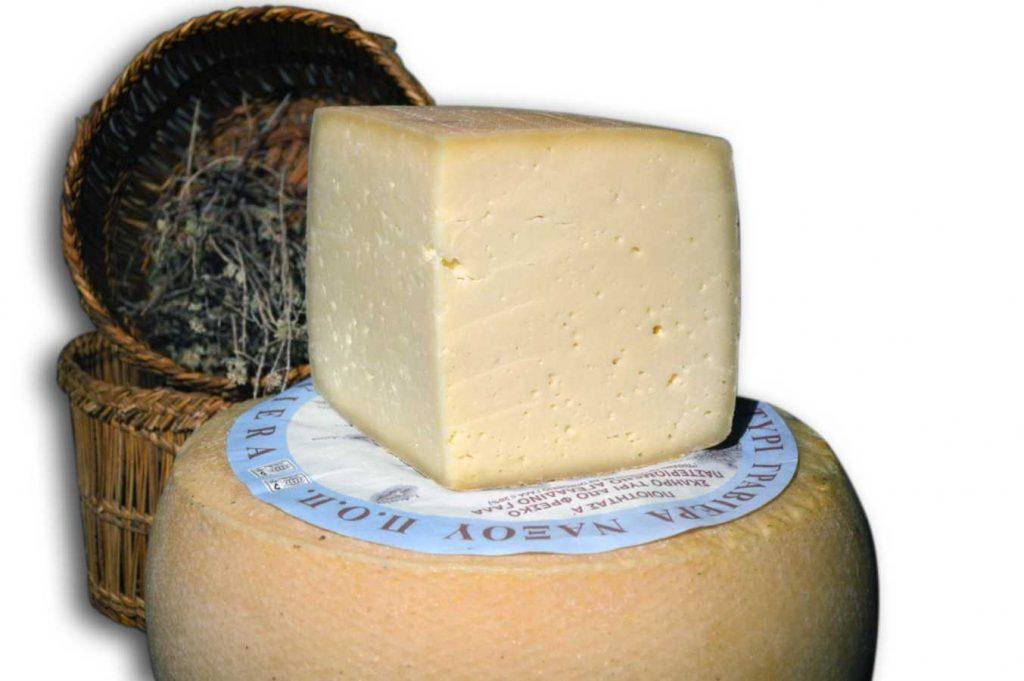 Naxos Graviera cheese