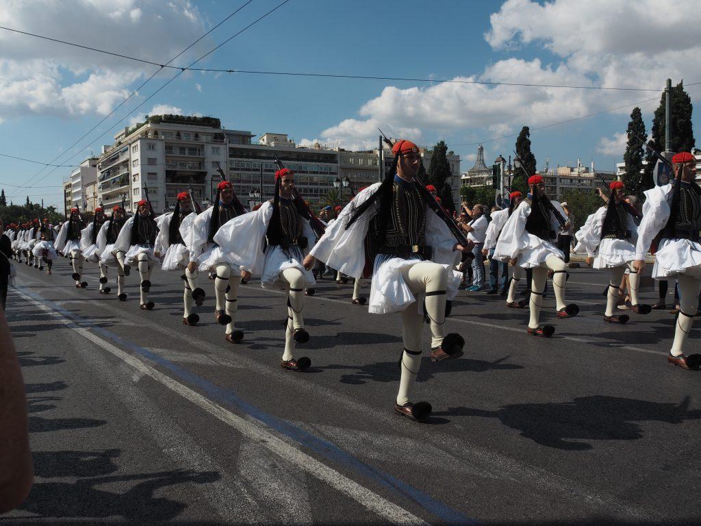 Evzones Syntagma Square