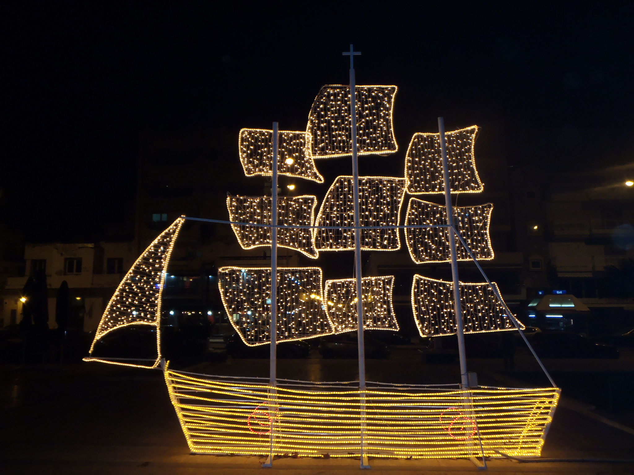 Christmas Boat Greece.Karavakia Christmas Boats In Greece