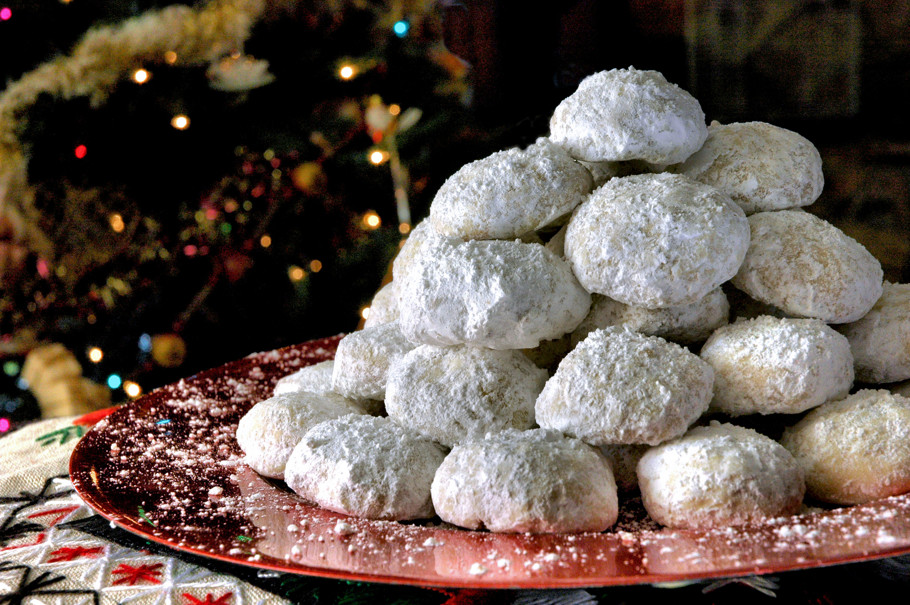 Traditional Christmas Desserts.Traditional Greek Christmas Desserts