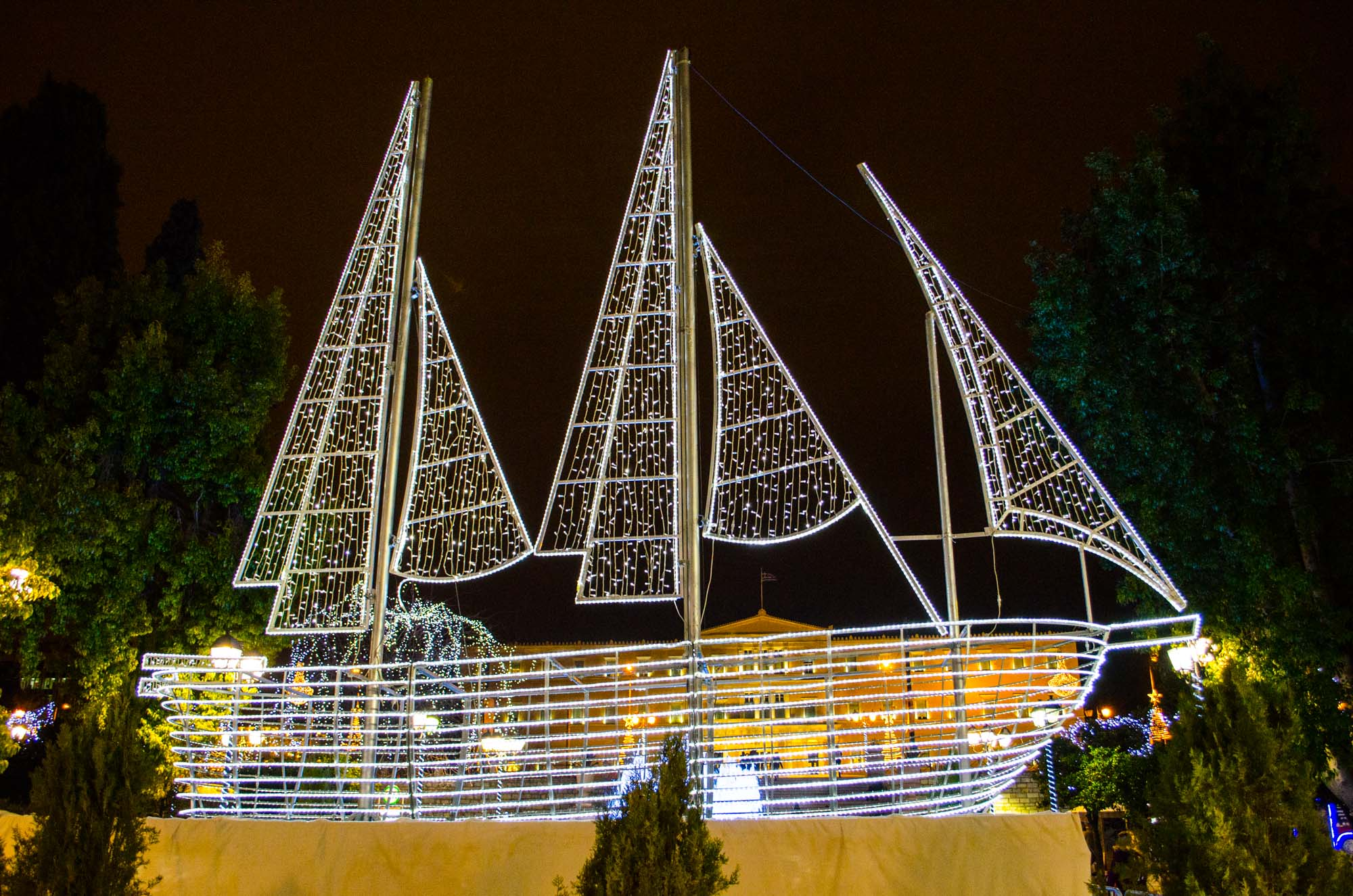 Christmas Boat Greece.What Makes Greek Christmas Special
