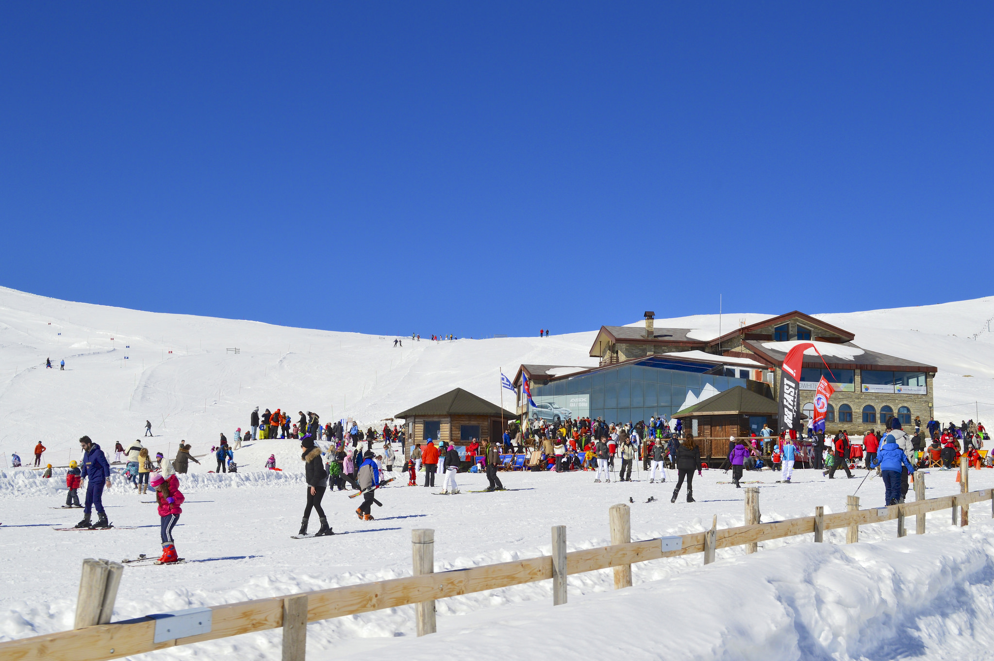 ski lodge in winter - photo #39