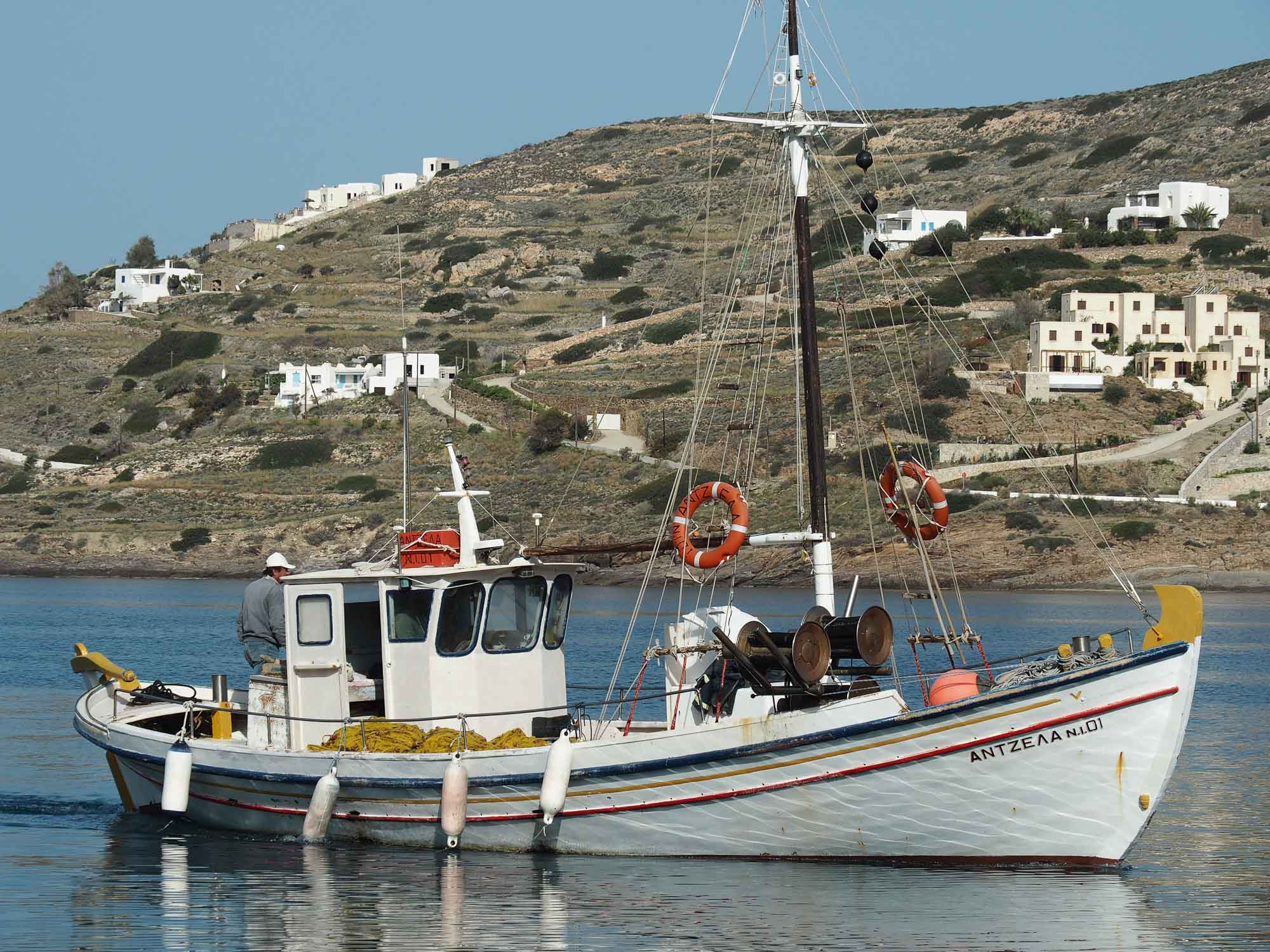 Greek wooden boats the history of traditional for The history of fish