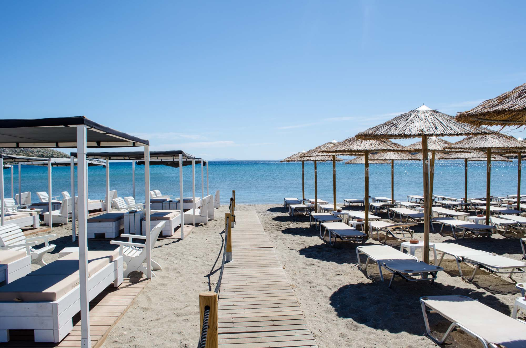Athenian Riviera Top 7 Attica Resorts and Beaches flymetothemoontravel