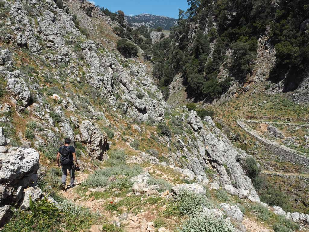 Hiking in Crete